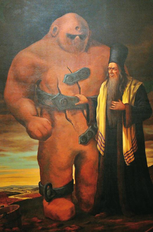 Golem a Rabbi Jehuda Löw